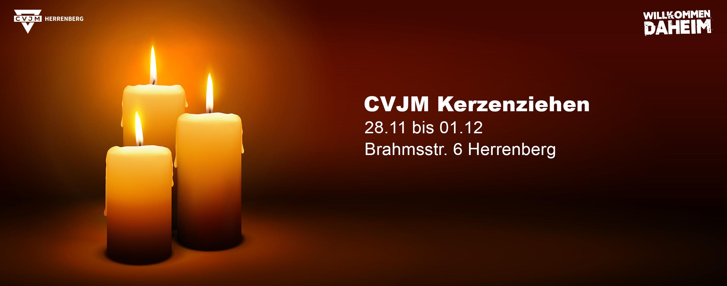 Das CVJM Kerzenziehen steht an!