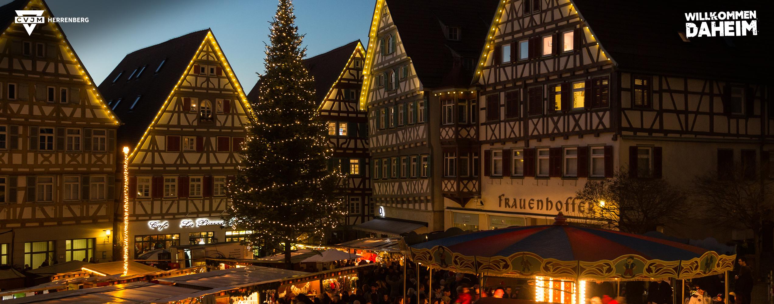 Weihnachtsmarkt Herrenberg - besuchen Sie uns!